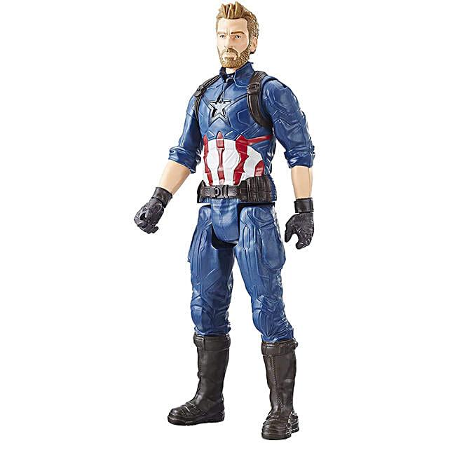 Online Action Figure Toy  Captain America Face