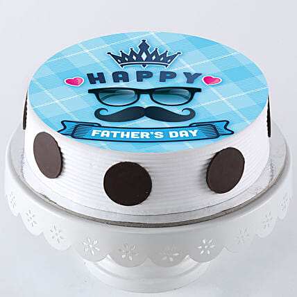 King Photo Cake For Father