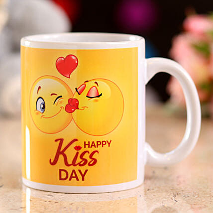 online printed kiss day mug:Kiss Day Gifts