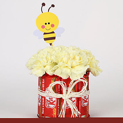 Chocolate and Carnation Gift Combo