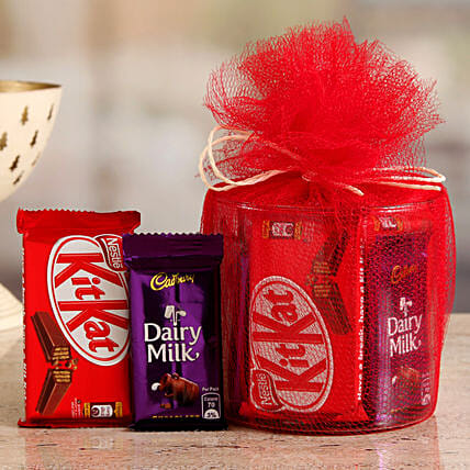 Online Kitkat Dairy Milk Rich Chocolate Gift Hamper:Diwali Chocolates