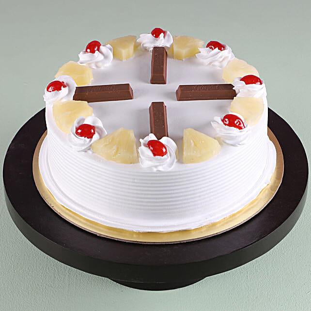 Online Kitkat Pineapple Cake