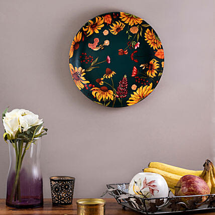 Kolorobia Floral Bliss Home Decor Wall plate:Send Unique Gifts