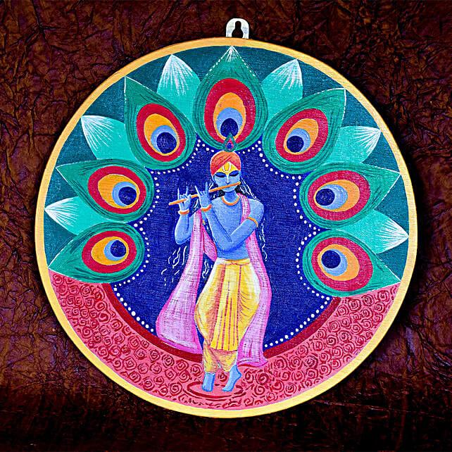 Krishna Wall Hanging:Handmade Gifts