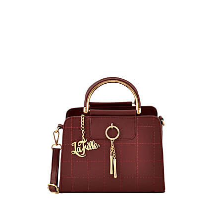 best burgundy colour handbag:Handbags and Wallets Gifts