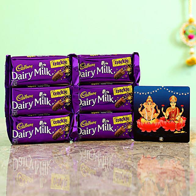 Lakshmi Ganesha Table Top & Crackle