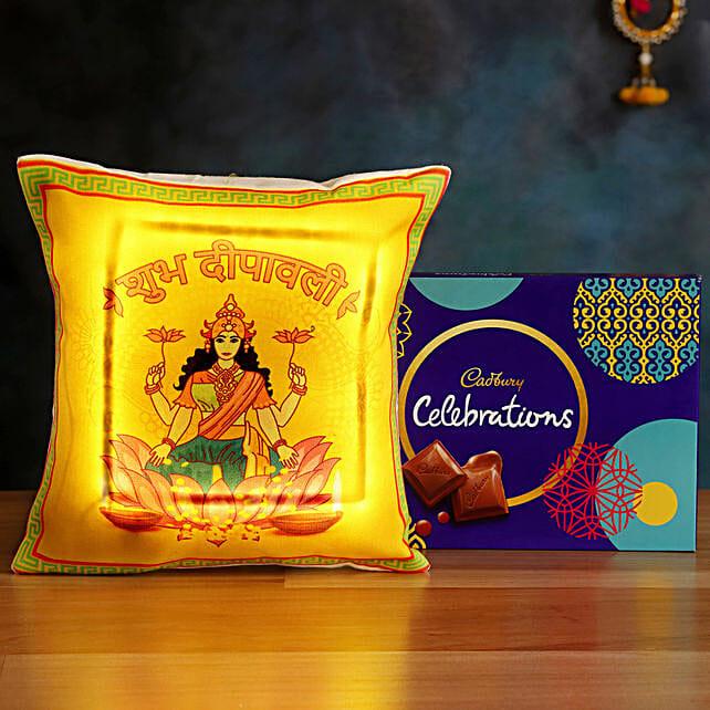 Buy LED Cushion with Cadbury