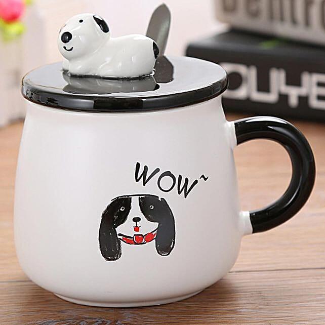 Online Puppy Dog Ceramic Mug