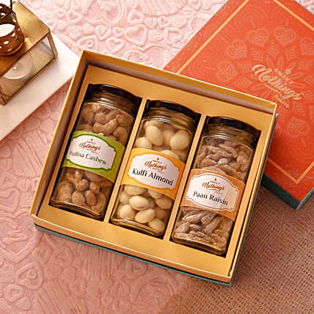 Online Lemon Cashews & Kulfi Almonds With Paan Raisins