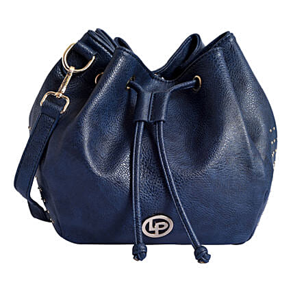 Blue Handbag for regular use