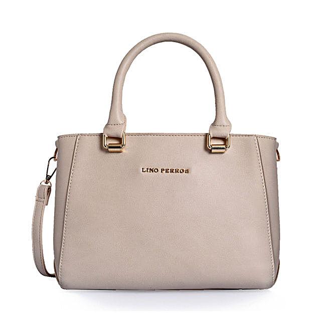 Beige Handbag for Her