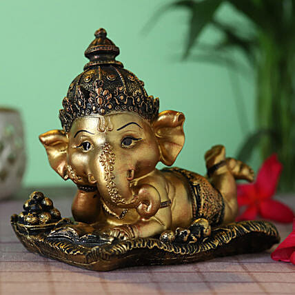 home décor little ganesha idol:Send Home Decor Gifts