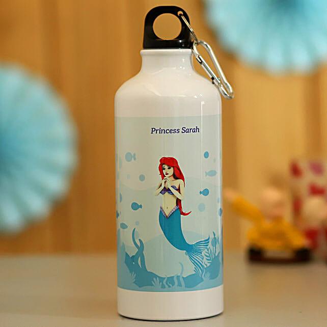 mermaid printed bottle