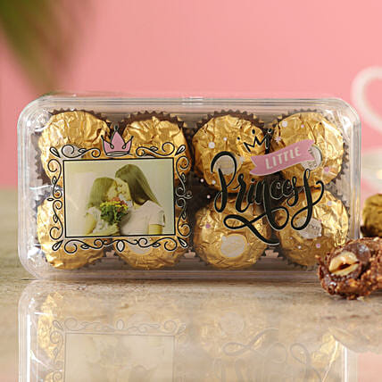 Little Princess Ferrero Rocher Box:Customised Chocolates