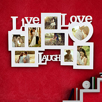 Live Laugh Love Frame Valentine:Gifts for 25Th Anniversary