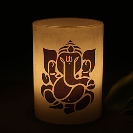 Lord Ganesha Candle-Your gift contains: Ganesha candle