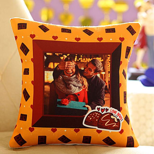Love Bites Personalised Cushion