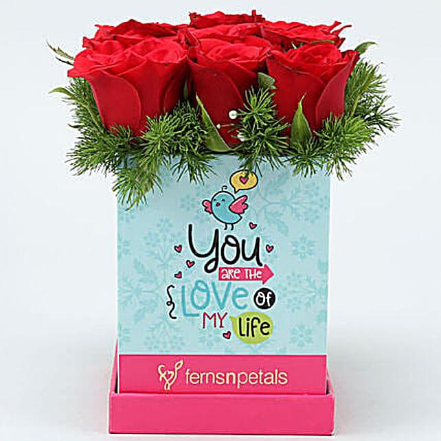 Love Inspired Roses Arrangement