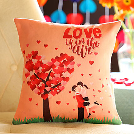 Printed Cushion For Couple Online