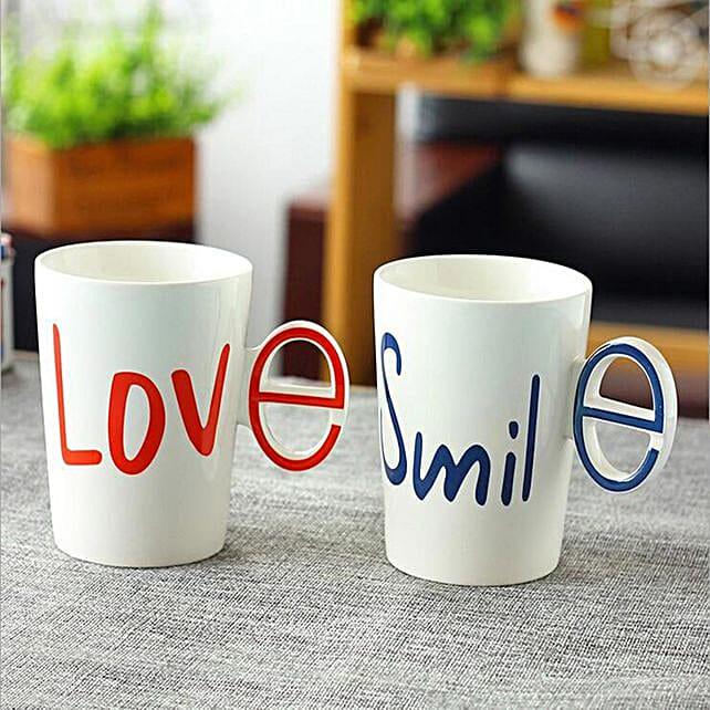 Online Love & Smile Combo Mugs