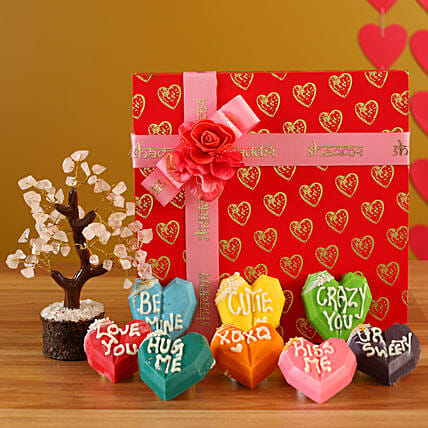 Send Love Special Heart Chocolates Combo