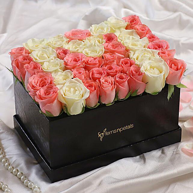 Love Wishes With Serene Flower Arrangement