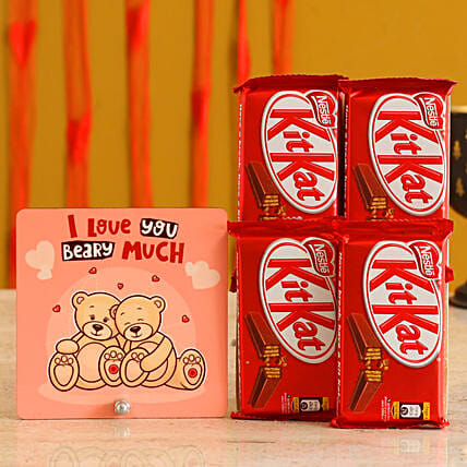 Table Top & Kitkat Valentines Combo Online