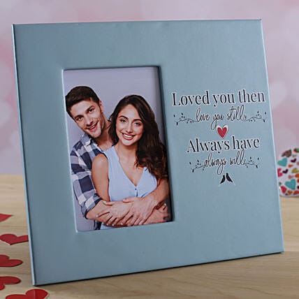 personalised photo frame for him