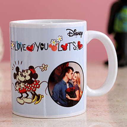 Love You Lots Personalised Mug Hand Delivery
