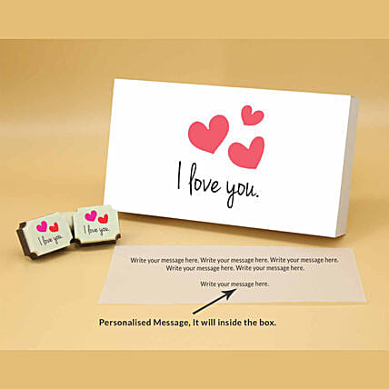 Love You Personalised Chocolate Box online