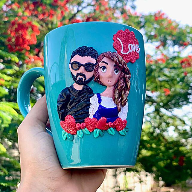 Online Lovebirds Mug