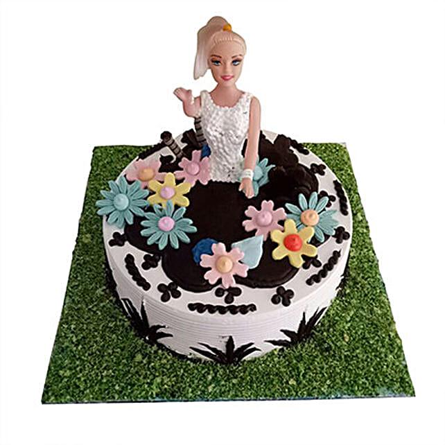 Lovely Baby Doll Cake 2 Kg