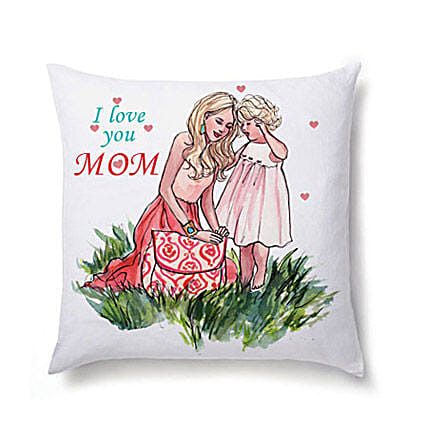 Lovely Cushion For Mom-12X12 inch Cushion