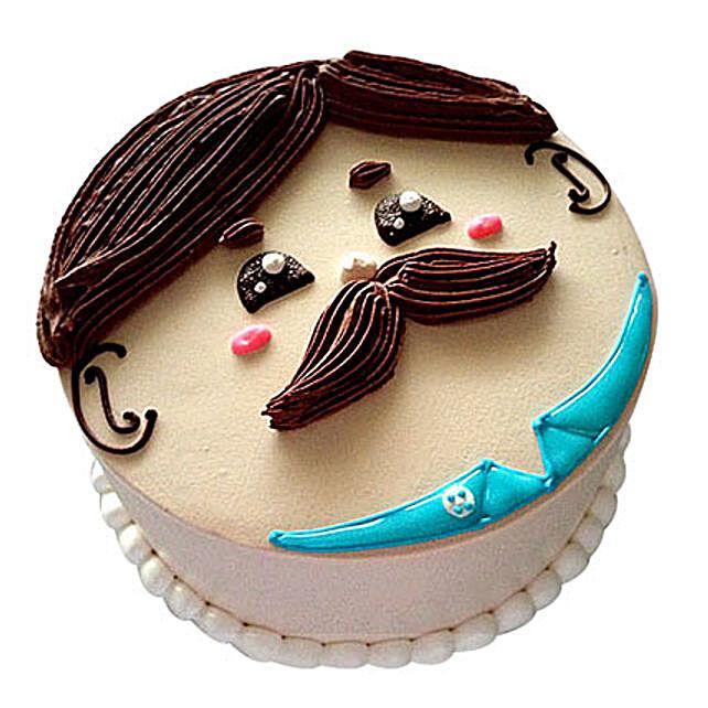Lovely Designer Cake 2kg Vanilla Eggless