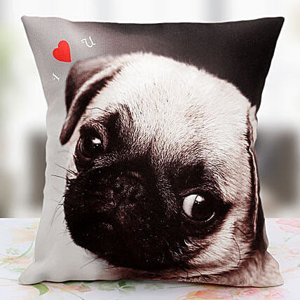Loving the Pet Personalized Cushion:Buy Best Retirement Gifts