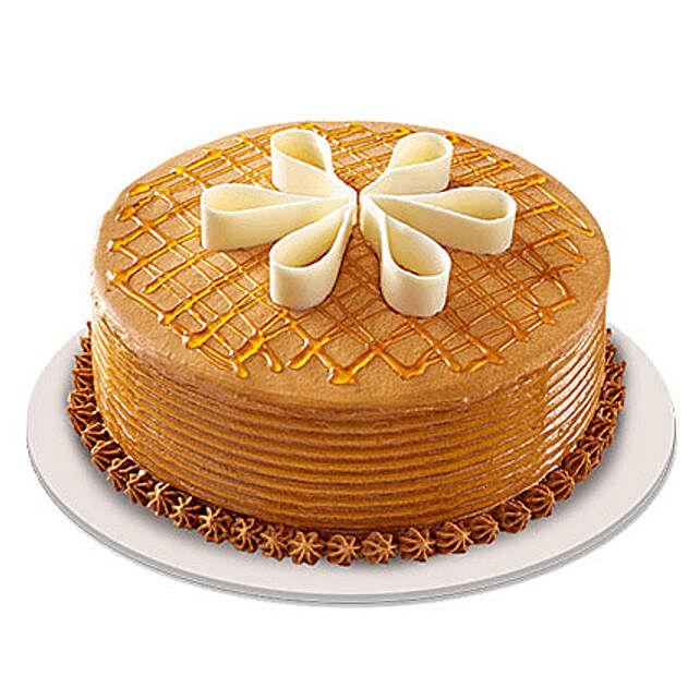 Lush Caramelt Cake half kg