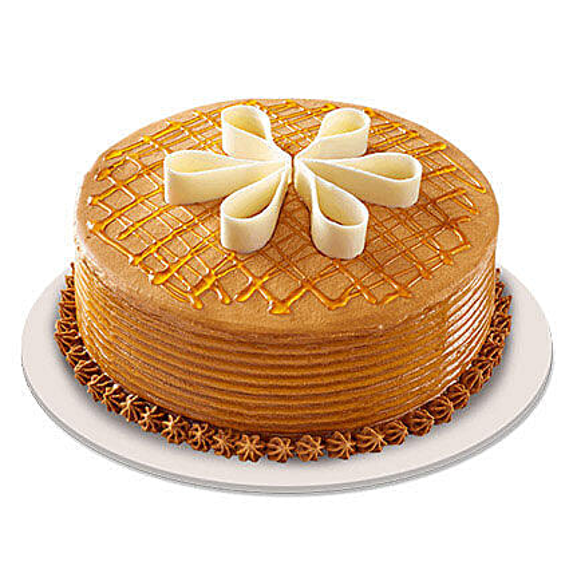 Chiffon Mixed Caramel Cake:Caramel Cakes