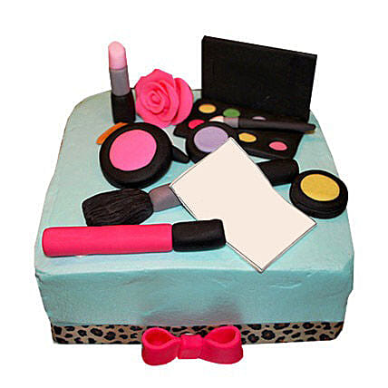 MAC Makeup Cake 3kg:Birthday Premium Cakes