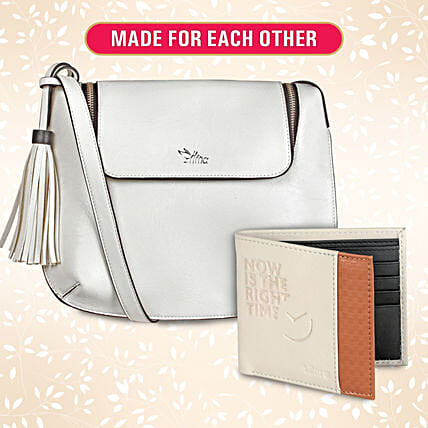 Made for Each Other Wallet And Sling Set