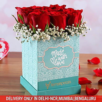 Made With Love Elegant Roses Box
