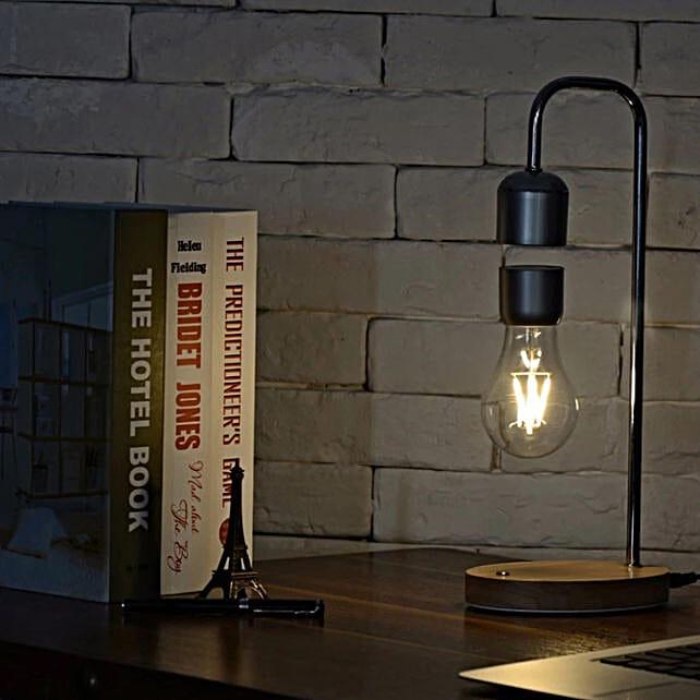 Magnetic Levitating LED Light Bulb Lamp:Funny Gifts