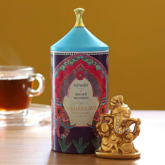 Maharajas Breakfast Black Tea Pack With Ganesha Idol