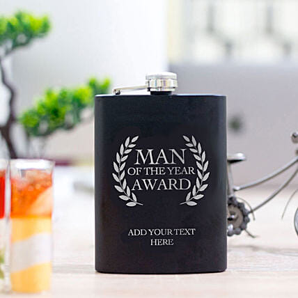 Name Printed Flask For Man Online