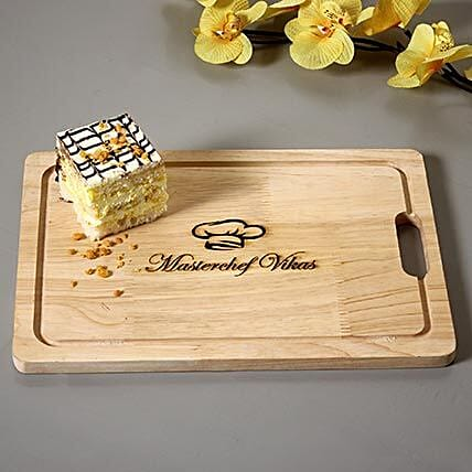 wooden printed chopping board