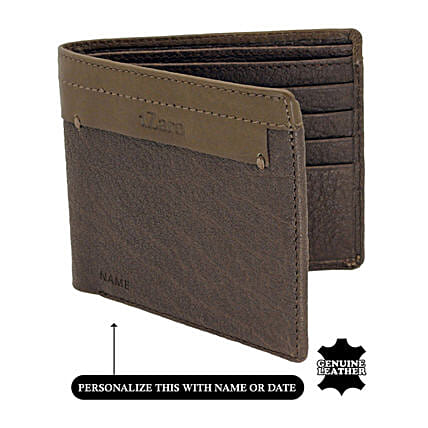 Buy Online Bi-Fold Wallet:Personalised Handbags and Wallets