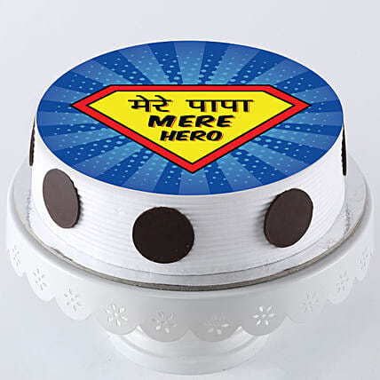 Super Hero Cake For Father