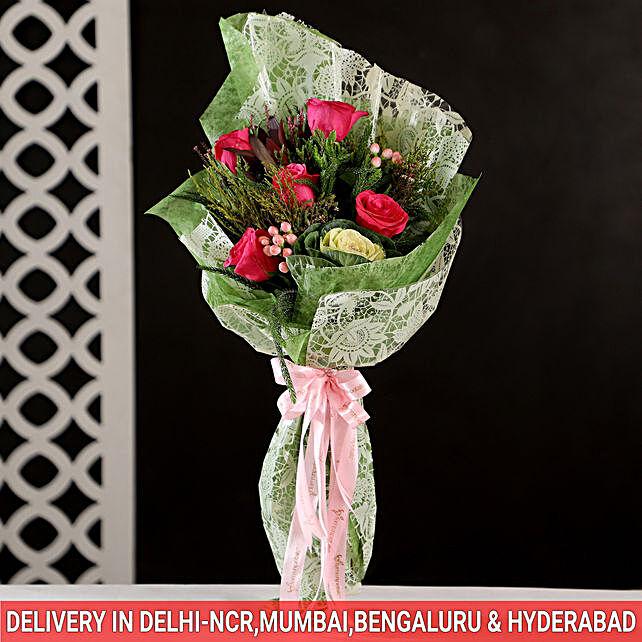 online attractive flower bouquet