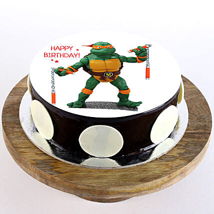 TM Ninja Cake for Kids