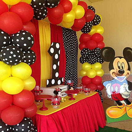 Mickey Backdrop