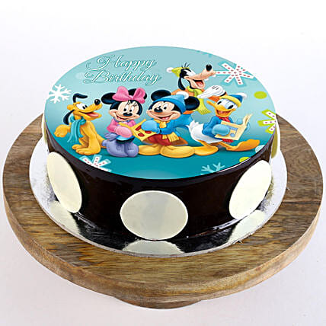 Cartoon Cake for Kids:1st Birthday Gifts